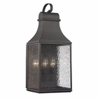 ELK Forged Jefferson Collection 3 Light Outdoor Sconce in Charcoal EK-47073-3