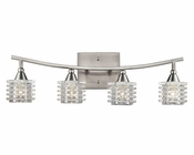 ELK Four Light Vanity Lamp Matrix EK-17132