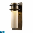 ELK Freeport 1-Light Outdoor Led Sconce in Hazelnut Bronze EK-43020-1