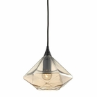 ELK Geometrics 1 Light Pendant in Oil Rubbed Bronze EK-10450-1