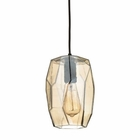 ELK Geometrics 1 Light Pendant in Oil Rubbed Bronze EK-10451-1