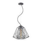 ELK Geoweb 1 Light Pendant in Urban Concrete EK-14270-1
