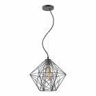 ELK Geoweb 1 Light Pendant in Urban Concrete EK-14272-1