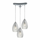 ELK Geval  Light Pendant in Polished Chrome EK-10253-3CL