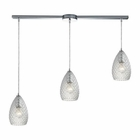 ELK Geval  Light Pendant in Polished Chrome EK-10253-3L-CL