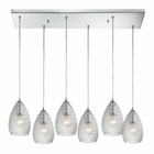 ELK Geval  Light Pendant in Polished Chrome EK-10253-6RC-CL