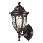 ELK Glendale 1 Light Outdoor Sconce in Regal Bronze EK-45000-1