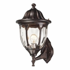 ELK Glendale 1 Light Outdoor Sconce in Regal Bronze EK-45001-1