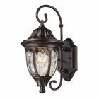 ELK Glendale 1 Light Outdoor Sconce in Regal Bronze EK-45002-1