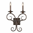 ELK Gloucester 2-Light Sconce in Antique Bronze EK-15040-2