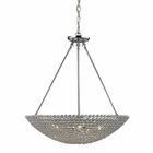 ELK Hammond 5 Light Pendant in Polished Chrome EK-10483-5