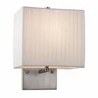 ELK Hayden Collection 1 Light Sconce in Brushed Nickel EK-17156-1