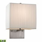 ELK Hayden Collection 1 Light Sconce in Brushed Nickel - Led EK-17156-1-LED