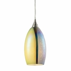 ELK Horizon 1 Light Pendant in Satin Nickel EK-31495-1