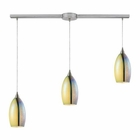 ELK Horizon 3 Light Pendant in Satin Nickel EK-31495-3L