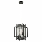 ELK Intersections Collection 2 Light Pendant in Oil Rubbed Bronze EK-14202-2