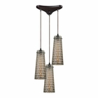 ELK Jerard 3 Light Pendant in Oil Rubbed Bronze EK-10248-3
