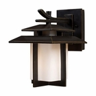 ELK Kanso 1 Light Outdoor Sconce in Hazelnut Bronze EK-42170-1