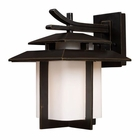 ELK Kanso 1 Light Outdoor Sconce in Hazelnut Bronze EK-42171-1