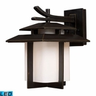 ELK Kanso 1 Light Outdoor Sconce in Hazelnut Bronze - Led EK-42171-1-LED