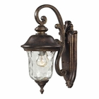 ELK Lafayette 1 Light Outdoor Sconce in Regal Bronze EK-45020-1