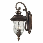 ELK Lafayette 2 Light Outdoor Sconce in Regal Bronze EK-45021-2