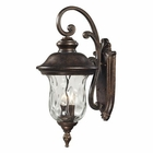 ELK Lafayette 3 Light Outdoor Sconce in Regal Bronze EK-45022-3