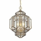 ELK Lavery 3 Light Pendant in Brushed Brass EK-22026-3