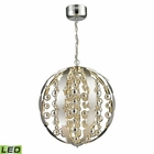 ELK Light Spheres Collection Led Pendant in Polished Chrome EK-11728-LED
