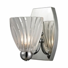 ELK Lindale 1 Light Vanity in Polished Chrome EK-11790-1