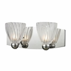 ELK Lindale 2 Light Vanity in Polished Chrome EK-11791-2