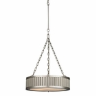 ELK Linden Collection 3 Light Pendant in Brushed Nickel EK-46114-3