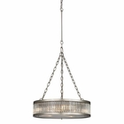 ELK Linden Collection 3 Light Pendant in Brushed Nickel EK-46115-3