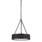 ELK Linden Collection 3 Light Pendant in Oil Rubbed Bronze EK-46134-3