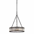 ELK Linden Collection 3 Light Pendant in Oil Rubbed Bronze EK-46135-3
