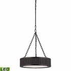 ELK Linden Collection 3 Light Pendant in Oil Rubbed Bronze - Led EK-46134-3-LED