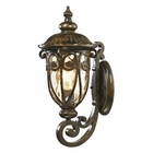 ELK Logansport Collection 1 Light Outdoor Sconce in Hazelnut Bronze EK-45070-1