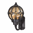 ELK Madagascar 1 Light Outdoor Sconce in Matte Black EK-87021-1