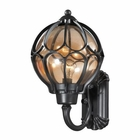 ELK Madagascar 1 Light Outdoor Sconce in Matte Black EK-87022-1