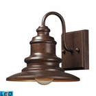ELK Marina 1 Light Outdoor Sconce in Hazelnut Bronze - Led EK-47010-1-LED