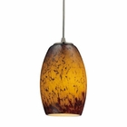 ELK Maui 1 Light Pendant in Satin Nickel EK-10220-1SUN
