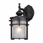 ELK Meadowview 1 Light Outdoor Sconce in Matte Black EK-46250-1
