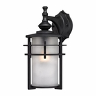 ELK Meadowview 1 Light Outdoor Sconce in Matte Black EK-46251-1