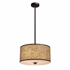ELK Medina 3-Light Pendant in Aged Bronze EK-31046-3