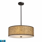 ELK Medina 5-Light Pendant in Aged Bronze - Led EK-31047-5-LED