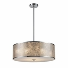 ELK Medina 5-Light Pendant in Polished Stainless Steel EK-31043-5