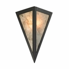 ELK Mica 1 Light Sconce in Oil Rubbed Bronze EK-66930-1