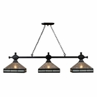 ELK Mica Filagree 3-Light Island Light in Tiffany Bronze EK-70061-3