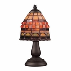ELK Mix and Match Section Tiffany Bronze Table Lamp EK-080-TB-10