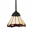 ELK Mix-N-Match 1-Light Pendant in Tiffany Bronze EK-078-TB-03